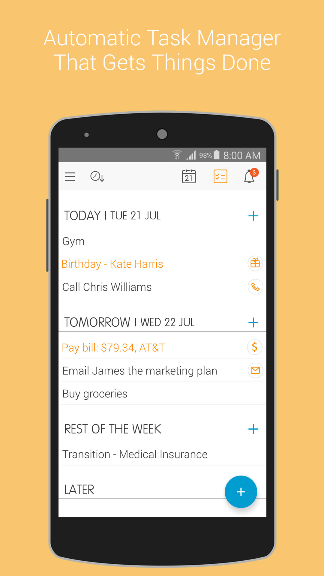 2. Tasks - google play